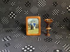"Wood You Go With Me~Vintage~Fetco~Picture~Photo~Frame~5""x7Light Wood~Honey~Frame~Cornice~Beveled Edge Wood by RubyJeanRummage on Etsy"