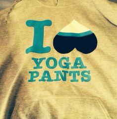 Yoga pants, love them.