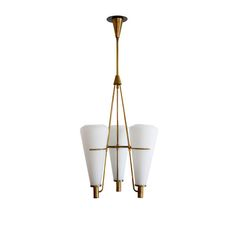 Stilnovo Chandelier   From a unique collection of antique and modern chandeliers and pendants  at https://www.1stdibs.com/furniture/lighting/chandeliers-pendant-lights/