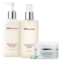 Elemis Rehydrating Skincare Essentials: Perfect for dry, winter skin at timetospa.com