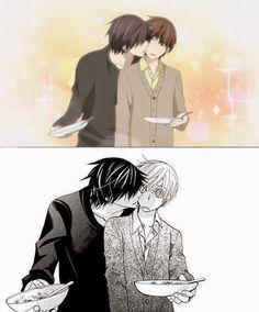 Sekaiichi Hatsukoi- Ritsu x Takano Kiss