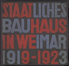 The Bauhaus, 1919–1933 | Thematic Essay | Heilbrunn Timeline of Art History | The Metropolitan Museum of Art