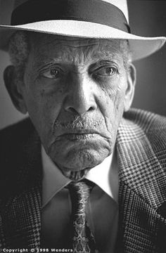 Compay Segundo (Maximo Munoz)  (September 18, 1908 - July 13, 2003) Cuban accordeonplayer and great singer