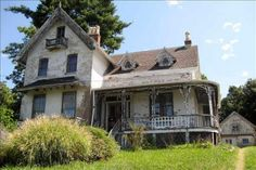 Car-Free Country House: Beacon Victorian of Mystery, $355,000 HAUNTED LOOKING HOUSE