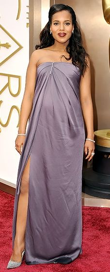 Kerry Washington is perfect in Jason Wu's first ever Oscar gown!