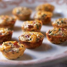 Mini Frittatas with Ham and Cheese | CookingLight.com