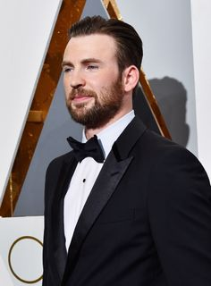 Chris Evans, attending the 88th Academy Awards on February 28, 2016