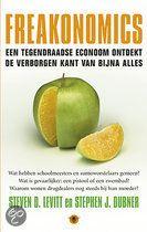 Freakonomics (NL of EN)  Gewoon lezen. Hoe een econoom geheimen ontrafelt en oplossingen vindt die niemand anders zou bedenken.