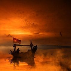 Journey by Caras Ionut #inspiration #boat #fire #CGE #twilight pic.twitter.com/oEUeXCLaTF