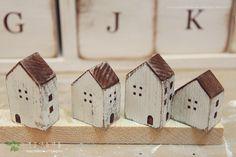 하우스 오너먼트 만들기- 2013새해맞이 집들이♪(소품.DIY) 새해를 맞아서 나무집을 지었습니다 남은각...