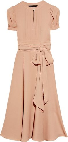 Marc By Marc Jacobs Pink Mimi Silkcrepe Dress