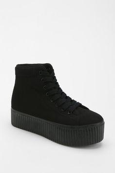 be30dee27a1 Jeffrey Campbell Hiya Tonal Flatform-Sneaker Flatform Sneakers