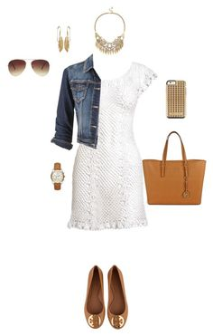"""Untitled #7296"" by erinlindsay83 ❤ liked on Polyvore featuring Tory Burch, maurices, Michael Kors, Sole Society, Forever 21, Rebecca Minkoff, women's clothing, women's fashion, women and female"