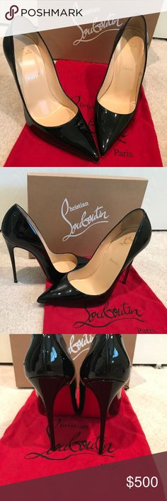f9363fda8b84 Christian Louboutin so kate black size 40 Louboutin So Kate size 40  Christian Louboutin Shoes Heels