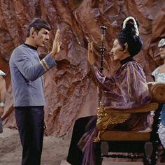Star Trek Guest Blog: Leonard Nimoy On The Vulcan Salute