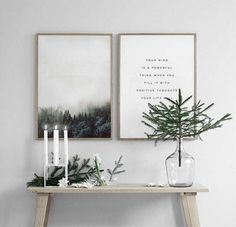 Christmas decorations in the Scandinavian style - 46 ideas how to decorate the home for Christmas - Weihnachten Deko Minimalist Christmas, Minimalist Home Decor, Minimalist Art, Scandinavian Art, Scandinavian Christmas, Noel Christmas, Simple Christmas, Christmas Bible, Hygge Christmas