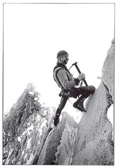 vintage mountaineering photos