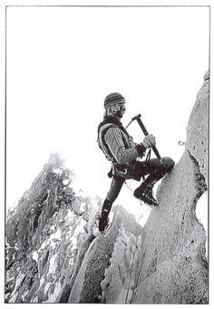 I love vintage mountaineering photos
