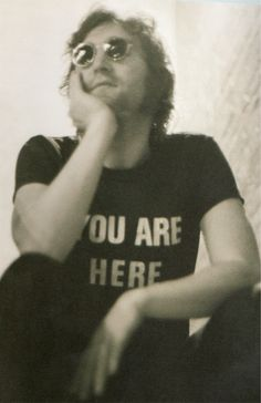 {YOU ARE HERE John Lennon}