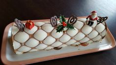 Bûche Chocolat pralinée feuilletée