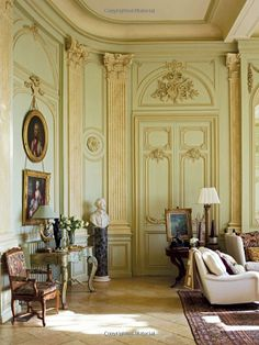 Grand Salon - Chateau du Grand-Lucé: Decorating a Great French Country House: Timothy Corrigan, Eric Piasecki, Marc Kristal