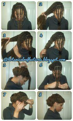 Texture Thursday: Marley Twists Side Bun