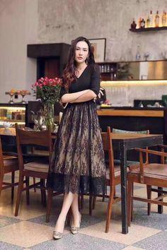 Вечернее платье Chanel с юбкой-сеткой!