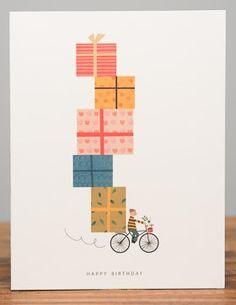 Birthday Bike | Red Cap Cards
