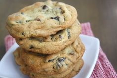 dark chocolate chunk, pecan and dried cherry cookies ----- lower fat and sugar believe it or not!