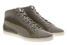 ALEXANDER MCQUEEN x PUMA Twisted Leather High Top