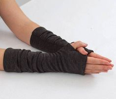 Fingerless Glove Sewing Pattern - Fingerless gloves PDF Sewing Pattern