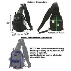 We took our popular Stage I Compact Sling Bag and made it better yet. We  call it the Stage II. Small 870834045e253