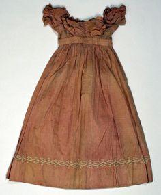 1820s Salmon Dress