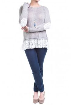 Type 2 Remains Of The Day Outfit... I love the lace at the hem and elbows... so cute.