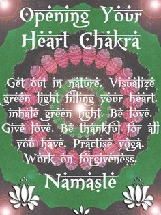 Open Your Heart Chakra - For Yourself And The World |Higher Perspective
