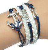 HUMASOL Vintage Knit Charm Leather Suede Wrap Bracelet Gift - http://tonysgifts.net/2015/02/09/humasol-vintage-knit-charm-leather-suede-wrap-bracelet-gift/