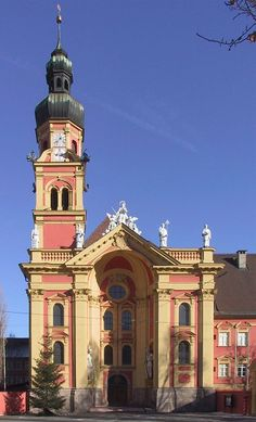 Stift Wilten, a premonstratensian monastery was founded around 1128. 26 manuscripts were filmed for HMML.