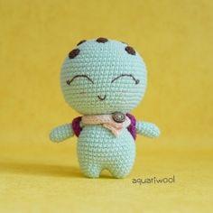 Noah The Turtle Crochet Bear Patterns, Amigurumi Patterns, Cute Crochet, Crochet Toys, Crochet Animals, Crochet Crafts, Easy Crochet Projects, Crochet Ideas, Step By Step Crochet