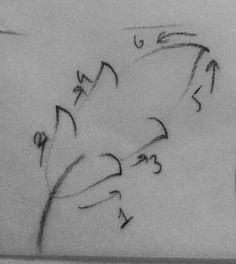 3.DERS: YAPRAKLAR (2) Islamic Art Pattern, Arabic Pattern, Pattern Art, Persian Motifs, Turkish Art, Arabic Art, Mark Making, Illuminated Manuscript, Diy Art