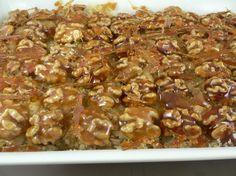 Crumble de Manzanas con nueces acarameladas