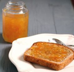 Meyer lemon ginger marmalade -- a great use for all the Meyers my mom brings when she visits.