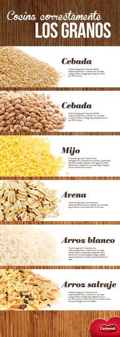 Sabemos que te encantará tener estos tips a la mano. ¡Se acabó el arroz batido!