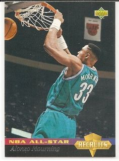 Alonzo Mourning 1992-93 Upper Deck All-Star Weekend Charlotte Hornets Card 32 *** Learn more by visiting the image link.