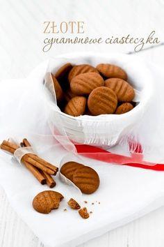 Złote cynamonowe ciasteczka