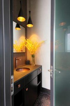 Horseshoe Bay Lakehouse Bath - contemporary - bathroom - austin - Cornerstone Architects