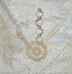Crazy Quilting and Embroidery Blog by Pamela Kellogg of Kitty and Me Designs: Crazy Quilt Wedding Mystery Continued