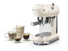 Macchina da caffè espresso smeg 50's style caffè macchiato cappuccino