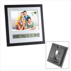 Digital Photo Frame Clock