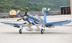 F4U Corsair RC Warbird Airplane - Radio Controlled F4U Corsair Military Plane - RC $299