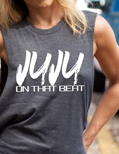 JUJU On That Beat T-shirt, Graphic Tee, Completely Customizable, Personalized T-Shirt, Women Tee by trendsettersrepublic on Etsy